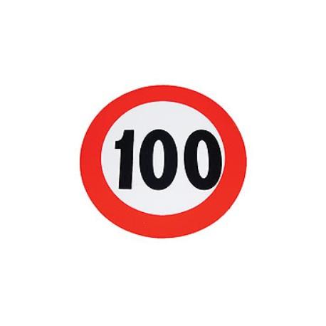 Plaque limitation de vitesse 100km/h