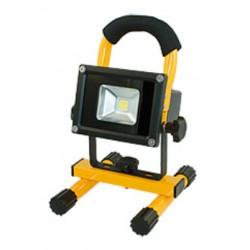 Projecteur LED d'atelier 10W avec ACCU
